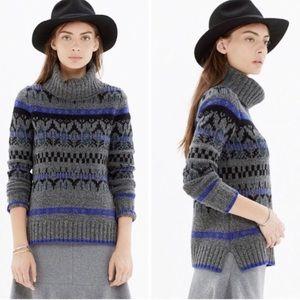 Madewell Iceblock Wool Turtleneck Sweater